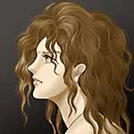 アルテミス 女性頭部習作 アイキャッチ