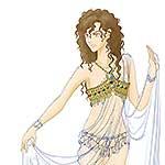 アルテミス衣装下書きアイキャッチ画像