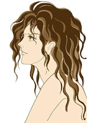 アルテミス女性頭部習作画像180111